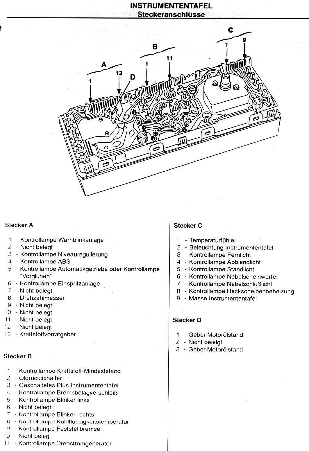 Ziemlich Gm 7 Stecker Schaltplan Zeitgenössisch - Der Schaltplan ...