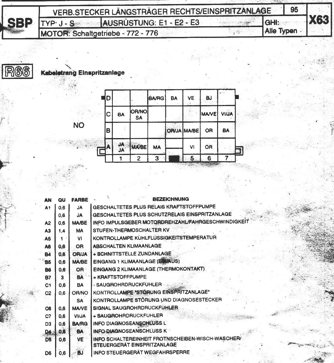 J63 Schaltplaene 1994-1995
